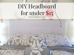 Finding the perfect headboard is easy. Finding the perfect priced headboard is hard. I've been looking and looking for a tufted headboard that won't break the bank and I came up with no…