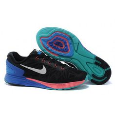 reputable site aae54 1bce7 Women Nike Lunarglide 6 Black Peacock blue Buy Nike Shoes, Cheap Nike  Running Shoes, Nike