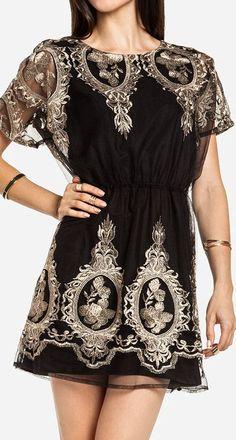 Baroque Dress ♥ L.O.V.E. #lbd