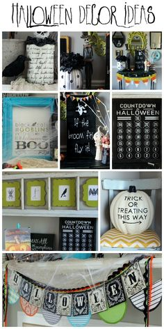 Pretty Halloween Decor Ideas on { lilluna.com } #halloween