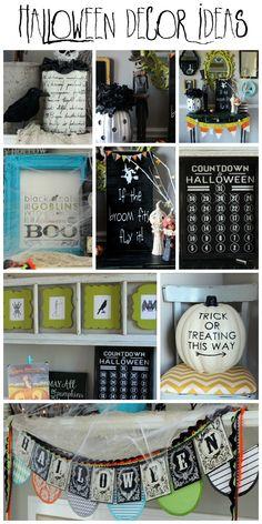 Pretty Halloween Decor Ideas on { lilluna.com } #halloween