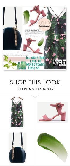 """SheIn"" by edy321 ❤ liked on Polyvore featuring Anja, Lipstick Queen, Kane, Calvin Klein and shein"