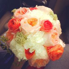 309 Best Peach Wedding Flowers Images On Pinterest Inspiration Bridal Bouquets And Fl Arrangements