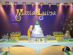 Papeliê - Papel em Festa (Blog): Enrolados - Maria Luisa 4 anos