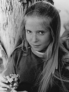 "Eve Plumb - During her years as Jan Brady on ""The Brady Bunch"", c. 1971"