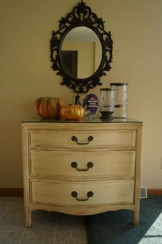 dresser refinished...A Garage Sale find that Brittany Gibbons refinished and looks LOvely!! Blog was done on 10/4/2012 Look up stains used...it is gorgeous!   Oh to be BFF with BG!