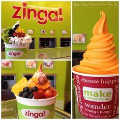 Zinga! Frozen Yogurt of Carrollton  It's as good as it looks!