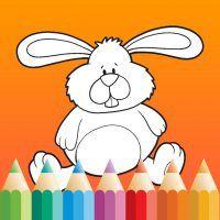 Kleurboek Pasen, nieuw en gratis app, voor kinderen