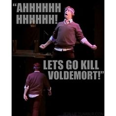 A Very Potter Musical hahaha after Ron kisses hermione... Hilarious