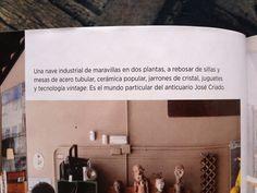 Publicación en la revista AD ,septiembre de 2013