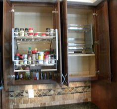 Bullington Cabinet organizer http://www.thekitchensofsk.com/bullington-kitchen.html