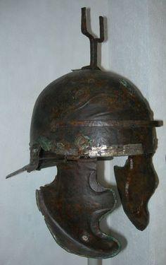 Weisenau helmet, 1st century A.D. Vindonissa Museum