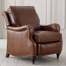 Image result for brown leather recliner chair