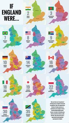 40 Ways to Carve Up England - Big Think Uk History, History Facts, European History, British History, Map Of Great Britain, Britain Map, England Map, Geography Map, English Heritage