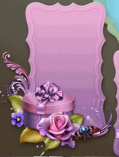 RB Borders For Paper, Borders And Frames, Beautiful Flowers Wallpapers, Pretty Wallpapers, Christmas Letterhead, Free Christmas Printables, Frame Clipart, Wedding Frames, Writing Paper