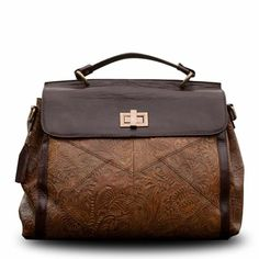 Patterned Leather Bag