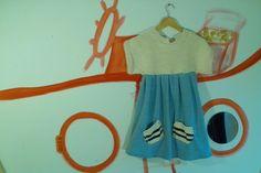 Kleid für Seefahrerinnen  von kleider für kleine auf DaWanda.com