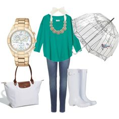 A fashion look from June 2012 featuring green top, 7 for all mankind jeans and tall boots. Browse and shop related looks. Fall Winter Outfits, Spring Outfits, Pretty Outfits, Cute Outfits, Teen Fashion, Fashion Outfits, Fashion Clothes, Outfit Combinations, Polyvore Outfits