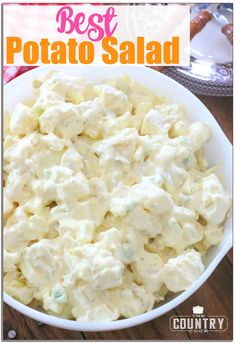 Best Ever Potato And Egg Salad Recipe.The Best Potato Salad Ever! No Eggs No Paprika No Sugar . The Best Homemade Potato Salad With Egg Julie Blanner. Southern Potato Salad, Classic Potato Salad, Creamy Potato Salad, Potato Salad With Egg, Egg Salad, Cucumber Salad, Simple Potato Salad, Sour Cream Potato Salad, Cobb Salad