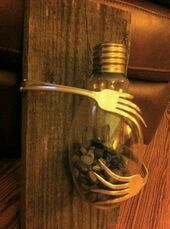 Repurposed light bulbs