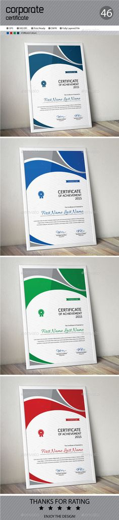Certificate Template Vector EPS. Download here: http://graphicriver.net/item/certificate/14275388?ref=ksioks