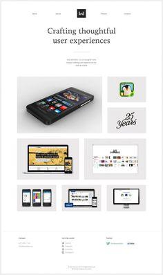 Portfolio of Rob Wootten UX-UI Designer - Webdesign inspiration www.niceoneilike.com