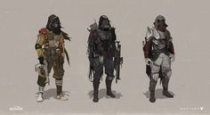 The Beautiful Concept Art of Bungie's Destiny
