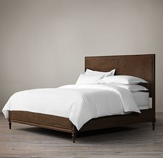 Master Bedroom inspiration; Maison Caned Bed Without Footboard - Restoration Hardware