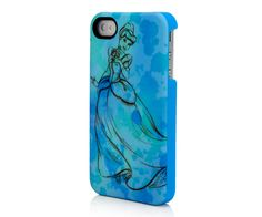 iPhone 4 Disney Sketch Line - Cinderella Mobile  Price: $34.99 I want this!!!