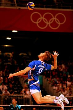 Ivan Zaytsev at Olympic games of London 2012