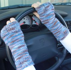 Fans of the Twilight Saga will recognize these fingerless gloves as very similar to those worn by stylish Alice. (And note that Brown Sheep has a Lanaloft Handpaint Worsted in color Twilight.)Whether or not you are a fan of this series, these gloves are sure to be a favorite as they are easy to knit and comfortable to wear.