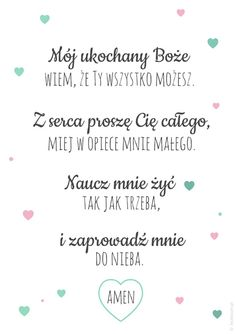 Plakaty z modlitwą Mój ukochany Boże Future Love, Nursery Room Decor, W 6, Quotes For Kids, God Is Good, Kids And Parenting, Gods Love, Motto, Diy For Kids