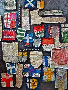 Lovely Handmade Badges - junko oki