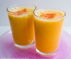 Super Sinus Juice ~ rich in raw ginger and antioxidants, this will give your immune system a healthy boost