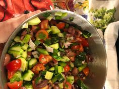 Neurotic Kitchen : Our Favorite Party Salad - Shepherd's Salad
