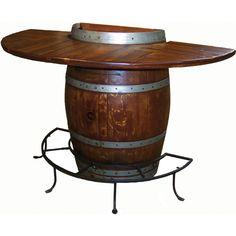 Bistro tables | Half Barrel Bistro Bar Table