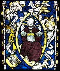 Saint John glimpses God in Majesty, York Minster
