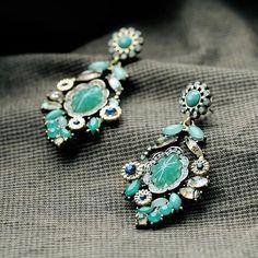 teal hued stones~