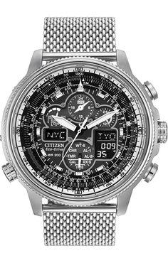 Citizen Eco-Drive Men's Navihawk Atomic Watch