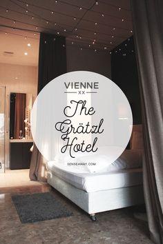 Visiter Vienne en 3 jours - Découvrez mes bonnes adresses pour dormir dans des endroits insolites. Comme l'hôtel Grätzl à Vienne ! #vienne #vienna #wien #autriche #bonnesadresses #austria #cityguide #travel #hotel