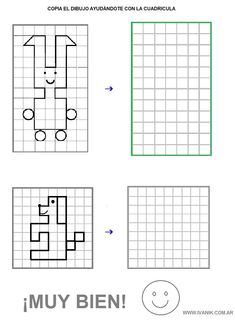 Dibujo Coding For Kids, Math For Kids, Puzzles For Kids, Visual Perceptual Activities, Graph Paper Art, Montessori Math, Hidden Pictures, Preschool Worksheets, Fun At Work