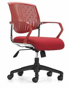 Zuo Synergy Office Chair, Red by zuo. $168.28. Soft plastic arms; Rolling base; Fabric seat. Structural and clean in look and design, the Synergy Office chair has soft plastic arms, steel frame, fabric seat, height and locking tilt adjustment, and a rolling base.. Save 47% Off!
