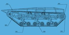 Ripsaw Side View Schematic