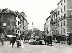 Piazza di Spagna (Alinari, 1905 ca)