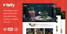 Telly - Video Blogging & Subscription WordPress Theme by themex