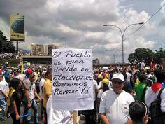 Miles de opositores buscan 'tomar' #Venezuela para presionar por un cambio de Gobierno  #LaTomaDeVenezuela