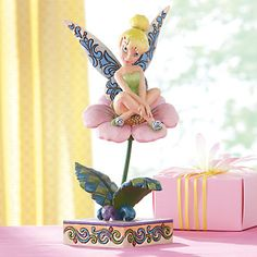 Jim Shore Tinker Bell on a Flower Figurine by Lenox from Lenox