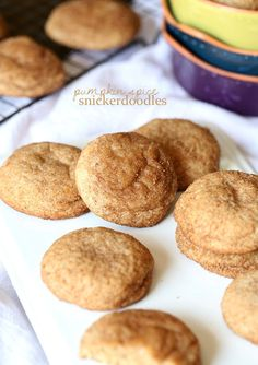 Cookies and Cups Pumpkin Spice Snickerdoodles » Cookies and Cups