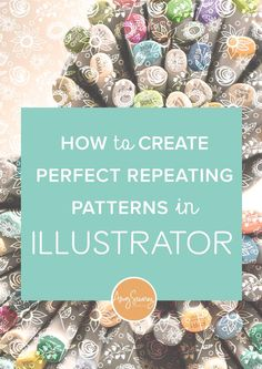 Ever wonder how to create perfectly repeating patterns in Illustrator? I debunk the myth that you have to be a seasoned pro to make beautiful patterns. Click through to watch the tutorial and start making patterns today!