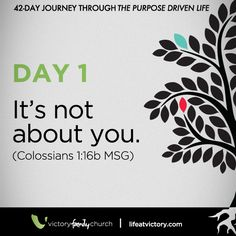 42-Day Journey Through the Purpose Driven Life